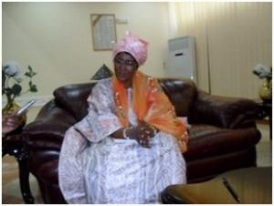 Mme Cisse Kaidama Sidibe