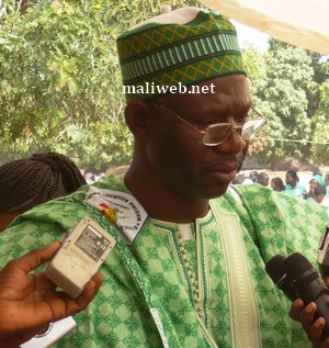 Seydou Diawara, vice président du groupe parlementaire VRD, élu à Bougouni