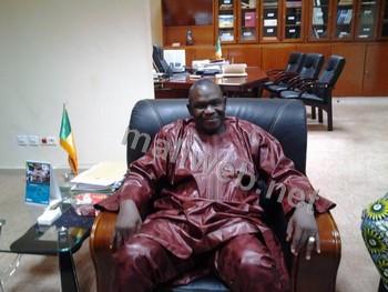 Le ministre Mohamed A Bathily