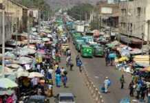 Le boulevard du Peuple à Bamako