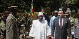 Le président malien, Ibrahim Boubacar Keïta et le roi du Maroc, Mohammed VI