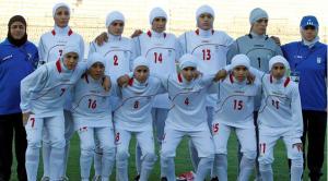 Footballeuses iraniennes