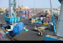 Le port de Dakar