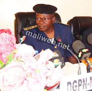 Hamidou Kanssaye Dg Police