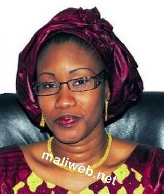 Mme N'Diaye Ramata Diallo, ministre de la Culture