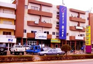 Le siège de Coris Bank à Ouagadougou