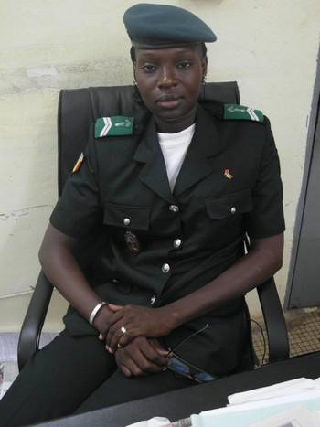 Kadidia Traoré : première gendarme chef de poste du Mali