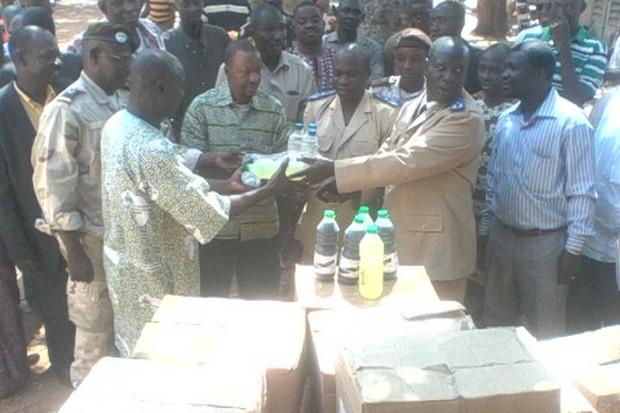 Plan-Mali face a l'Ebola: 8 millions CFA pour Kangaba, Kita et Sélingué