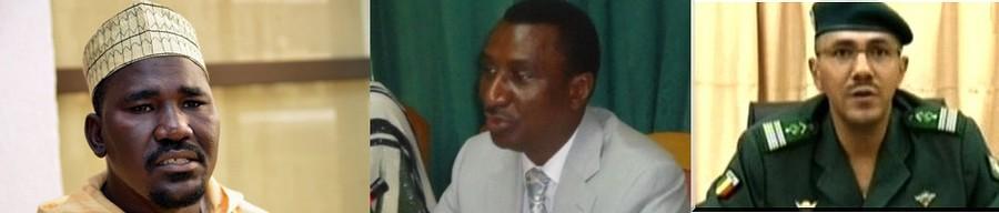 Mahamadou Djeri Maiga, Me Harouna Toureh, Col Diamou Keita (GD)
