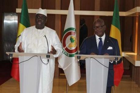 Le président Macky Sall à Bamako : UN GESTE FORT DE SOLIDARITE