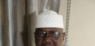 Le Premier ministre Modibo Keita