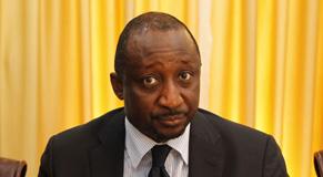 Tiéman Hubert Coulibaly, ministre de la Défense