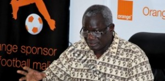 Le président de la Femafoot, Boubacar Baba Diarra
