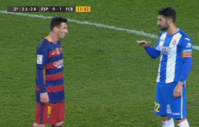L'embrouille mignonette entre Messi et Alvaro. - Twitter