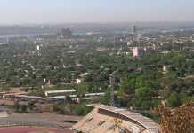 Bamako, vue de Koulouba