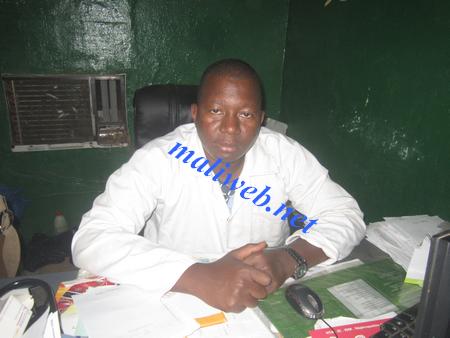 Dr Sidy Sissoko,0 propos de la canicule : « Boire énormément d'eau et éviter de sortir sauf si c'est urgent et utile »