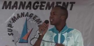 Le jeune comédien Youssouf Keita dit Petit Guimba