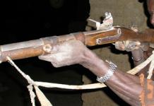 Fusil de chasse traditionnel