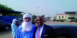 L'honorable Karim Kéita familiarise avec Bilal Ag Achérif