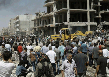 Syrie: 44 morts, 140 blessés dans l'attentat de Qamichli