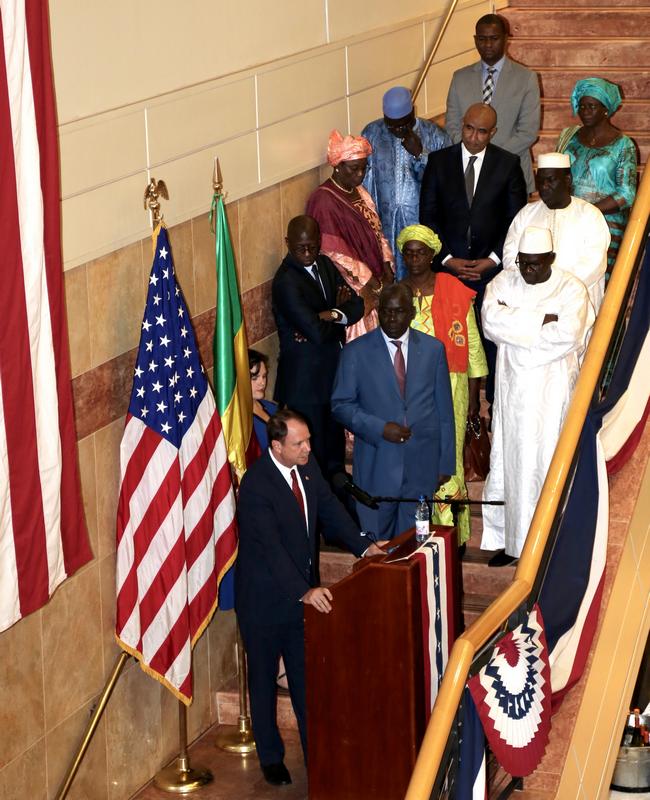 Discours de l'Ambassadeur Paul Folmsbee