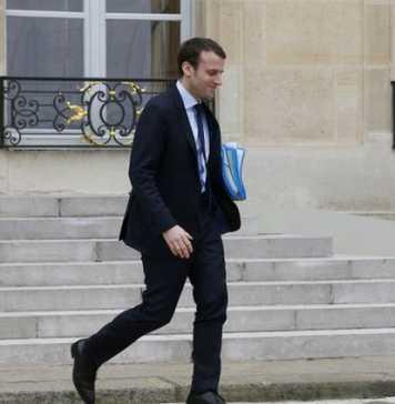 Emmanuel Macron, 2016. - THOMAS SAMSON / AFP