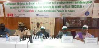 Lancement régional du projet BECEYA à Kayes