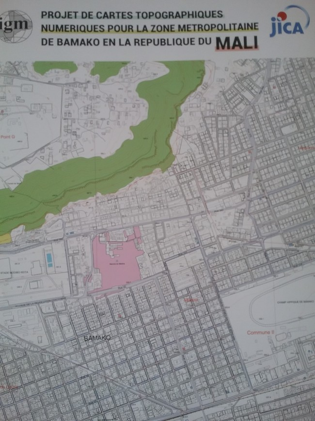 cartographie Bamako
