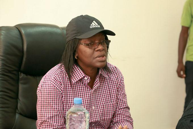 Le ministre Traoré Seynabou Diop