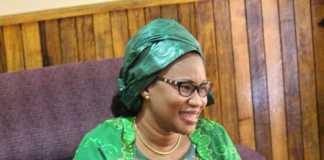 Le ministre de la Culture, Ndiaye Ramatoulaye Diallo