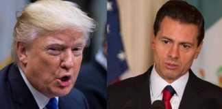 Trump conseille au president mexicain d'annuler sa visite s'il ne paye pas le mur