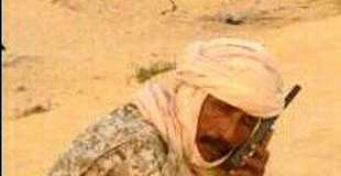 Colonel Abass Ag Mohamed Ahmad, chef d'état-major du CJA