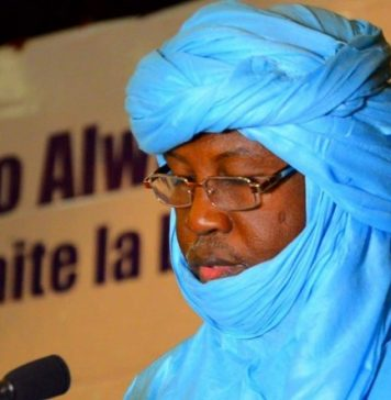 Abdourhamane Arouani Dicko, president de l'ARG