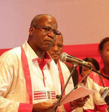 Pr. Tiémoko Sangaré, président de l'Adéma-Pasj