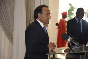 Le nouvel ambassadeur du Pakistan, Imran Yawar
