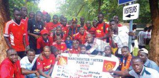Bassaro Haïdara, président du Manchester United fans club Mali