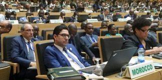 Réunion du Conseil Exécutif de l'Union Africaine (U.A) à Addis-Abeba