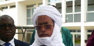 Le ministre Alhassane Ag Hamed Moussa
