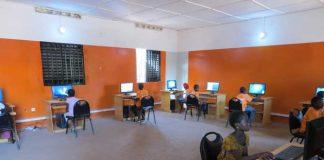 Vue de la salle multimédia de Missabougou