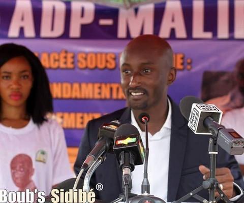 Cheick Oumar Diallo de l'ADP-Maliba: