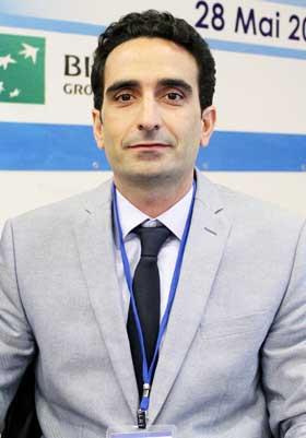 CYRIL ACHCAR président de l'organisation patronale des industriels (OPI) :