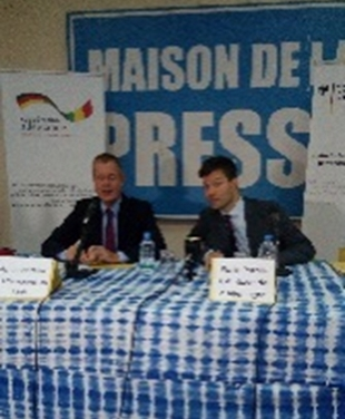 L'ambassadeur d'Allemagne au Mali, Dietrich Becker