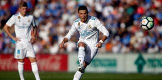 Grâce à Ronaldo et Benzema, le Real Madrid s'impose à Getafe (1-2)