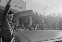 Général Suharto en Indonésie