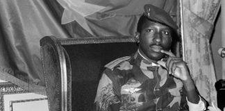 Le capitaine Thomas Sankara, ancien président du Burkina Faso
