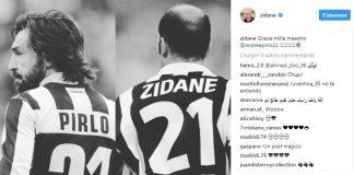 "Zidane, Buffon, Gerrard... les plus grands saluent le ""Maestro"" Andrea Pirlo"