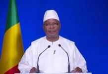 Chef de l'état S.E.M Ibrahim Boubacar Keïta