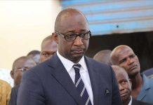 Le ministre de l'Administration territoriale, Tieman Hubert Coulibaly