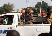 Des gendarmes à Ouagadougou, Burkina, le 22 septembre 2015.
