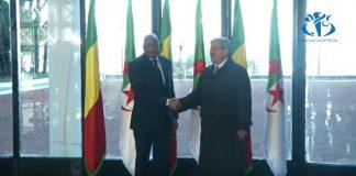 Le Premier ministre Ahmed Ouyahia, a reçu samedi 13 janvier à Alger son homologue malien Soumeylou Boubèye Maïga
